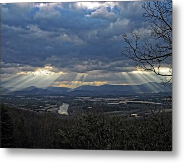 The Heavenly Valley Metal Print
