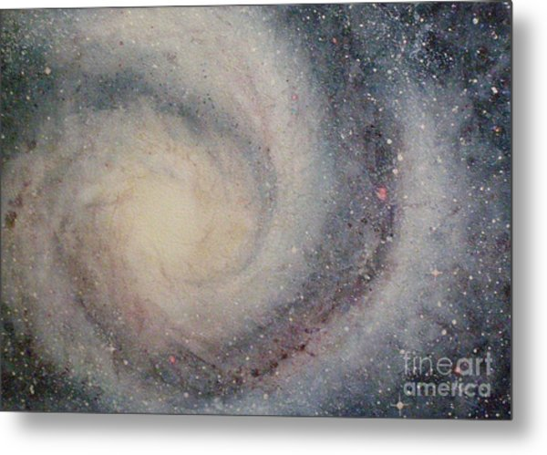 The Heavens Declare Your Glory Metal Print