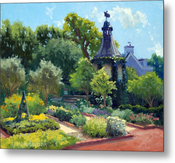 The Herb Garden Metal Print by Armand Cabrera