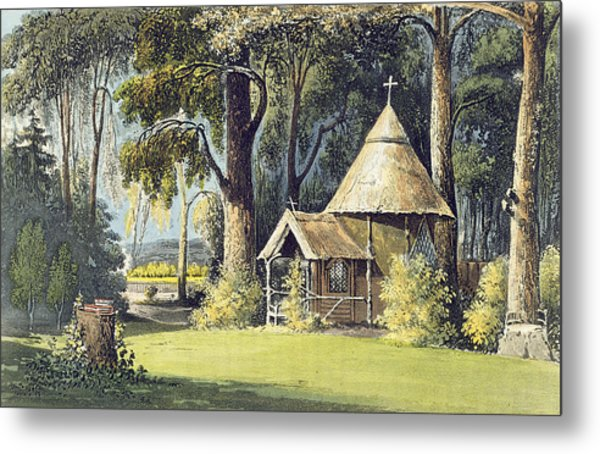 The Hermitage, From Ackermanns Metal Print