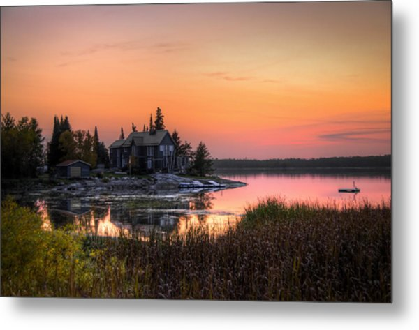 The Hide Away Metal Print