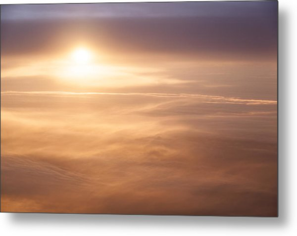 High Altitude Sunset  Metal Print