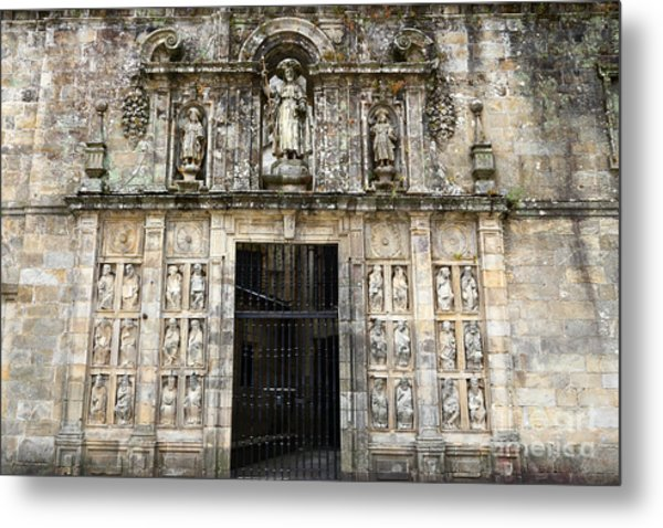 The Holy Door Metal Print
