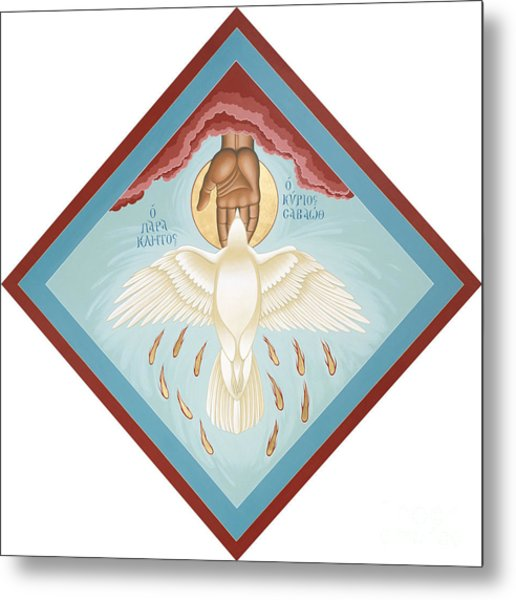 The Holy Spirit The Lord The Giver Of Life The Paraclete Sender Of Peace 093 Metal Print