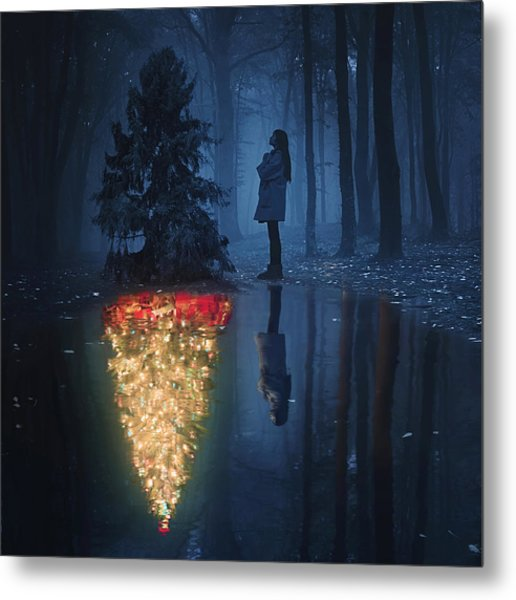 The Hope Of Christmas Metal Print by Terry F