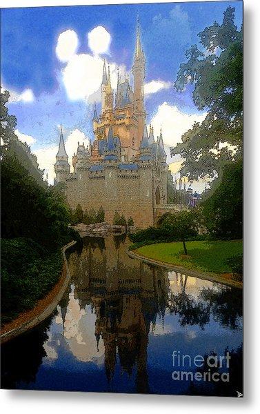 The House Of Cinderella Metal Print