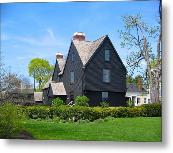 The House Of The Seven Gables Metal Print
