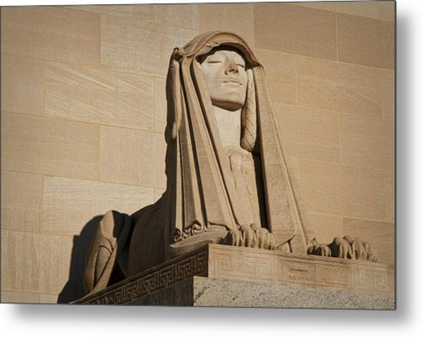 The House Of The Temple Sphinx #2 Metal Print