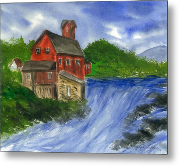 The House We Call Home Metal Print by Karen  Condron