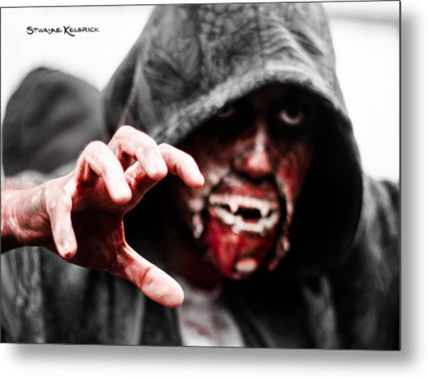 The Human Devil Jaws Metal Print
