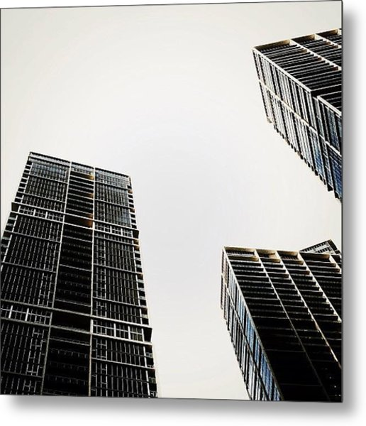 The Icon Bldg. Complex - Miami Metal Print
