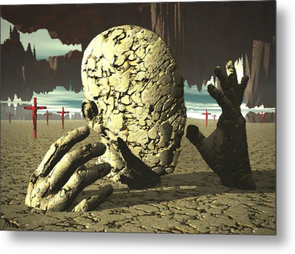 The Immutable Dream Metal Print