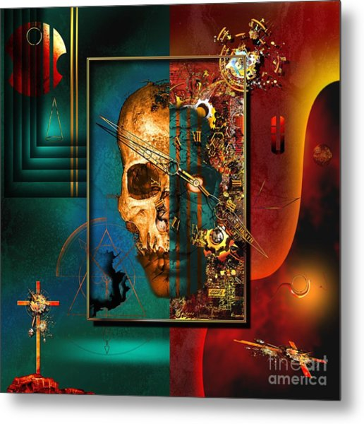 The Inconceivability Of The Being Metal Print