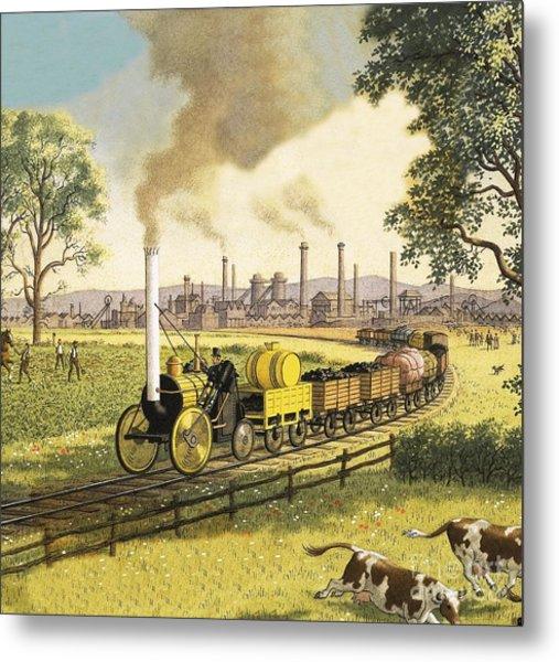 The Industrial Revolution Metal Print