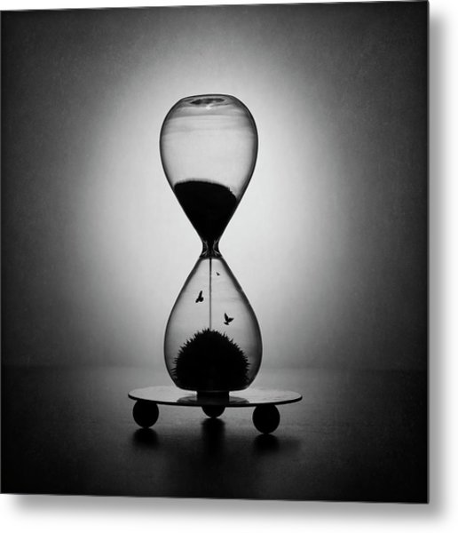 The Inexorable Passage Of Time Metal Print by Victoria Ivanova