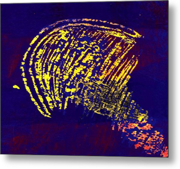 The Intellect Metal Print