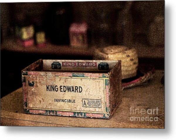 The Invincible King Edward Cigar Metal Print