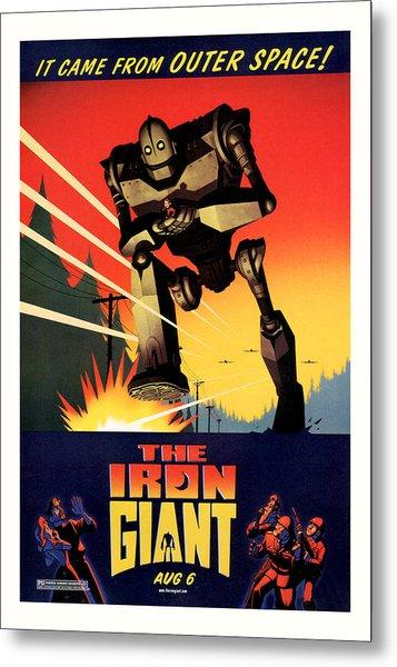 The Iron Giant 1999 Metal Print