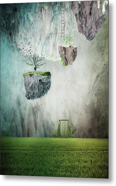 The Islands Of Oblivion Metal Print by Lucynda Lu