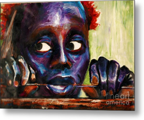 The Jarawa Tribe Metal Print