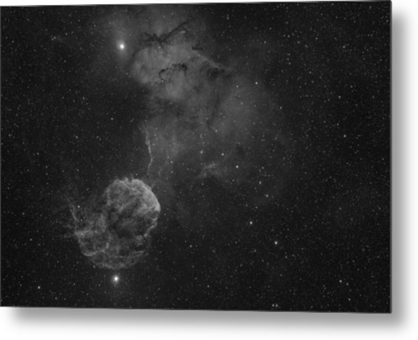 The Jellyfish Nebula Metal Print by Brian Peterson