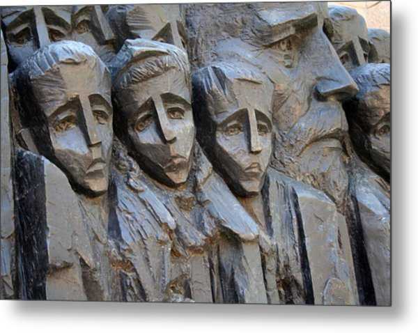 The Jewish Children Metal Print