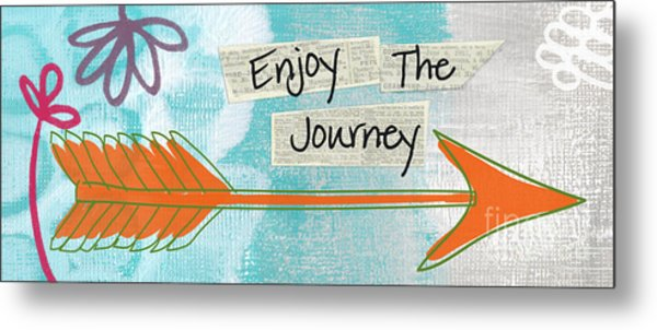The Journey Metal Print