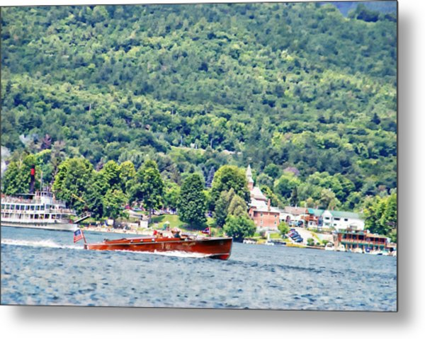 The Jug On Lake George Metal Print
