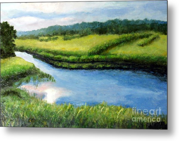 The Kennebecasis River Metal Print