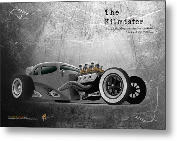 The Kilmister Metal Print