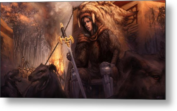 The King's Remains  Metal Print by Ethan Harris