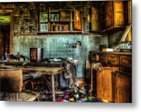 The Kitchen Metal Print