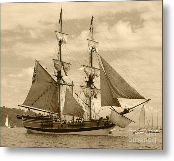 The Lady Washington Ship Metal Print