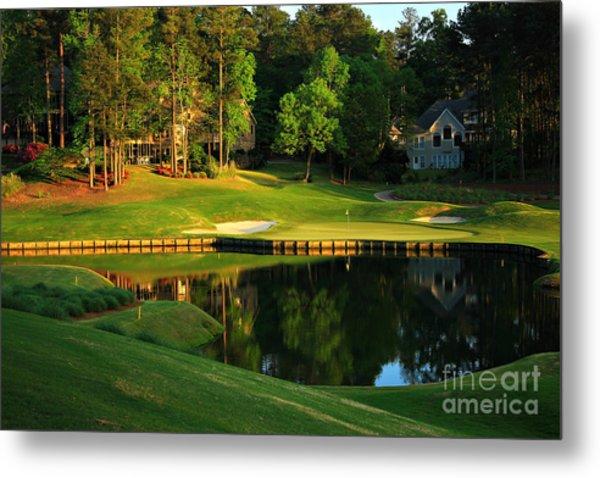 Golf At The Landing #3 In Reynolds Plantation On Lake Oconee Ga Metal Print