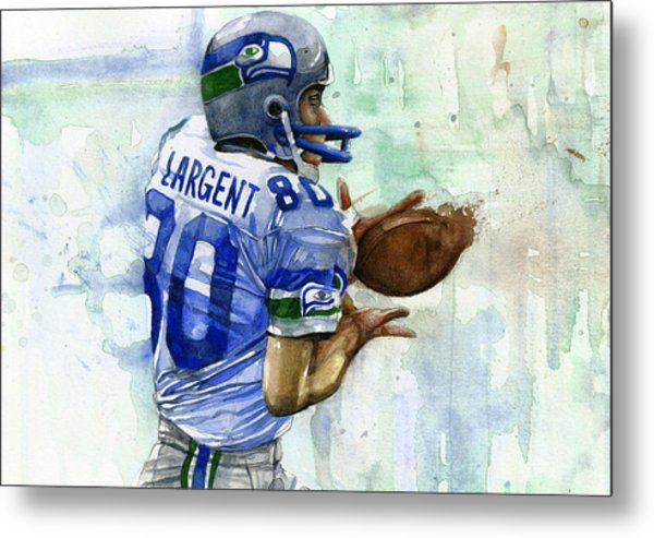 The Largent Metal Print