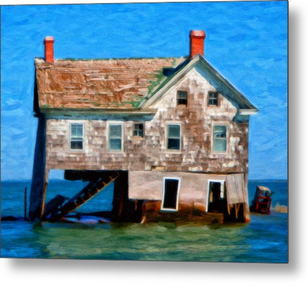 The Last House On Holland Island Metal Print