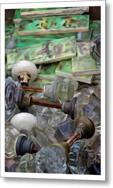 The Last Knobs Metal Print by Udo Dussling