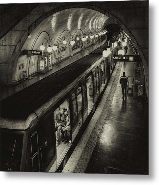 The Last Metro Metal Print