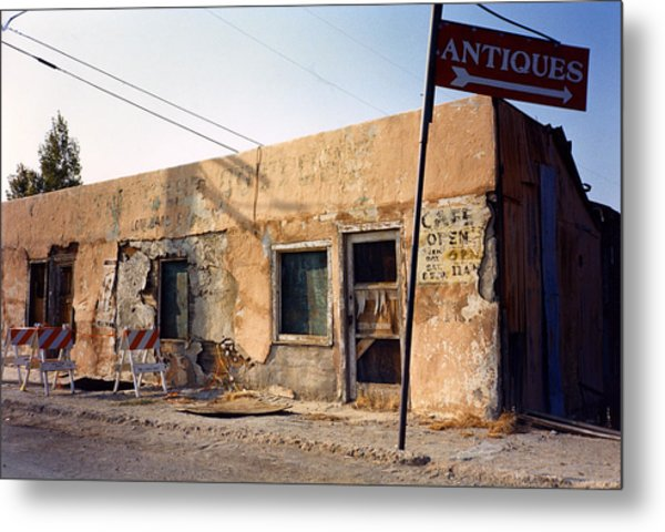 Metal Print featuring the photograph The Last Outpost by David Bailey