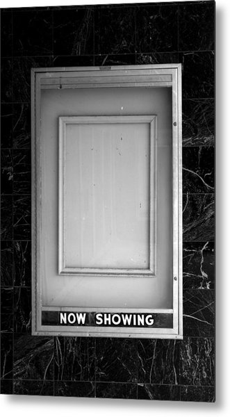 The Last Picture Show Metal Print by Vince  Risner