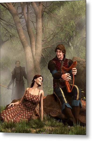 The Last Song Of Tristan Metal Print