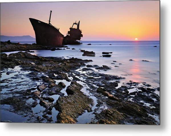 The Last Stand Metal Print by Mary Kay