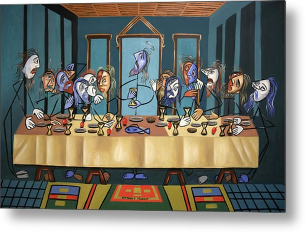 The Last Supper Metal Print