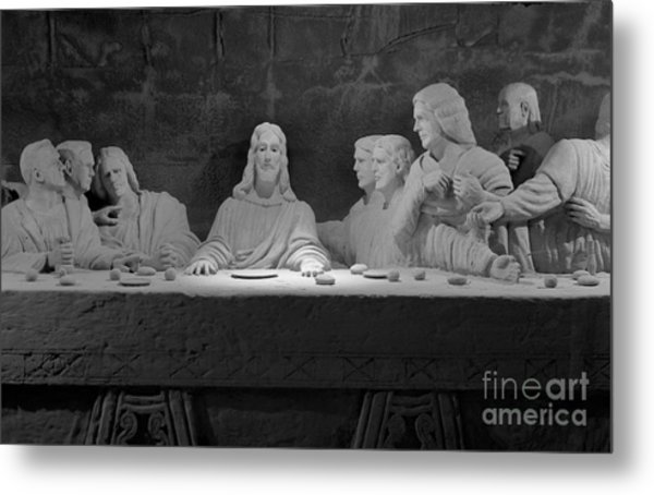 The Last Supper Metal Print by David Ricketts