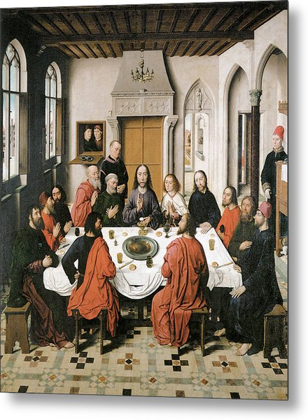The Last Supper Painting by Dieric Bouts