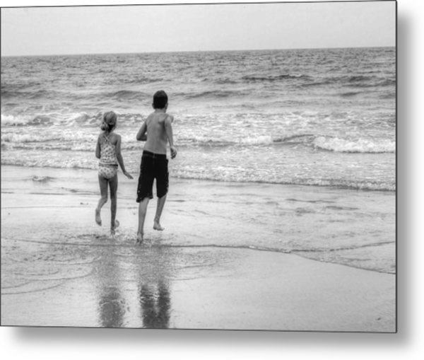 The Last Wave Metal Print