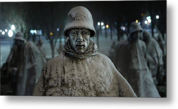The Lead Scout Metal Print