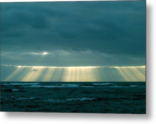 The Light Above Kapoho Metal Print
