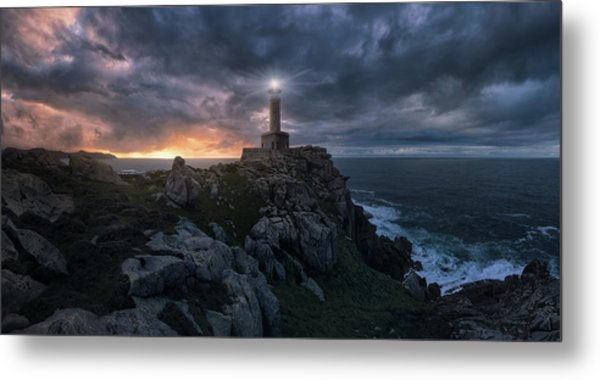The Light At The End Of The World Metal Print