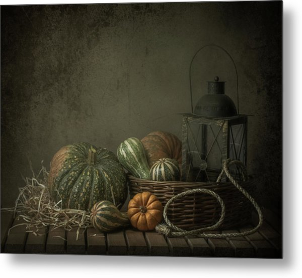 The Light In The Barn Metal Print